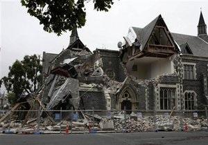 В Новой Зеландии после землетрясения снесут тысячи домов