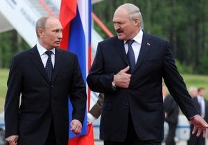 Путин поддержал Минск, ставший объектом санкций ЕС
