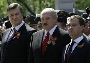 Янукович участвует в неформальном саммите лидеров СНГ в резиденции Медведева