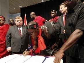 Нидерланды вернули Гане голову правителя