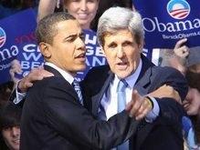 Экс-кандидат в президенты США Джон Керри поддержал Барака Обаму