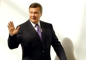 Янукович: Сегодня Президент отправляется с государственным визитом в Индию