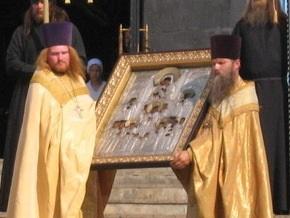 В Киеве из храма похитили старинную икону