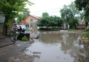 новости Николаева - подтопление - В Николаеве ликвидируют последствия сильных ливней: за ночь выпала половина месячной нормы осадков