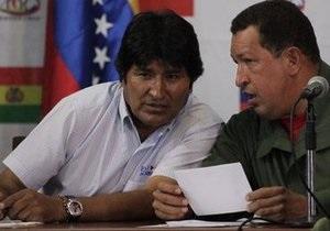 У президента Боливии украли внедорожник, подаренный Чавесом