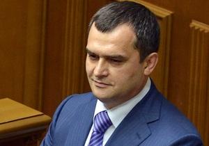 Захарченко не намерен подавать в отставку в связи со скандалом во Врадиевке