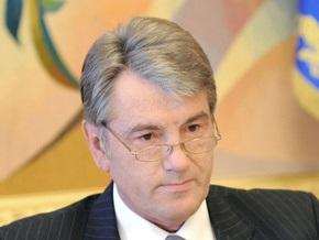 Сегодня Ющенко поговорит об инвестициях, а Тимошенко поедет открывать дорогу