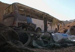 На границе Израиля с Египтом в результате ДТП погибли 19 полицейских