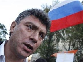 Московская милиция задержала Бориса Немцова