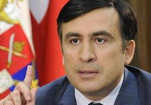 Саакашвили поблагодарил Россию за запрет на импорт грузинского вина