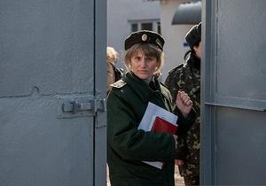 Защитникам позволили встретиться с Тимошенко. Они подтвердили наличие кровоподтеков на ее теле