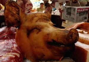 Вегетарианцы сорвали Праздник свиньи в Миргороде