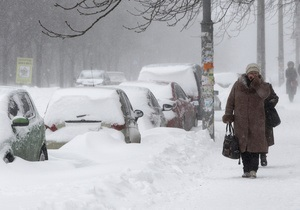 Таять снег в Украине начнет в апреле - Укргидрометцентр