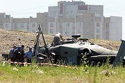 В России разбился вертолет, которым хотели заменить Ми-8
