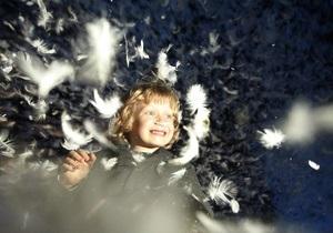 Фотогалерея: Площадь ангелов. В Киеве открылась Французская весна