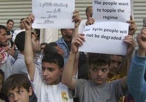 Генсек ООН призвал Сирию начать выполнять мирный план