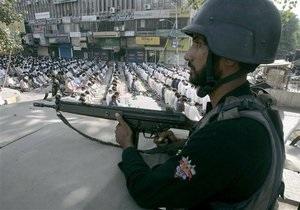 В Исламабад попытались ввезти 130 кг взрывчатки