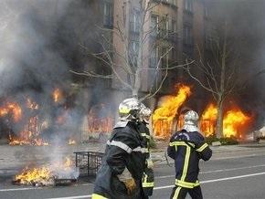 Антинатовские демонстранты подожгли отель в Страсбурге