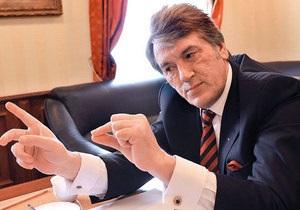 Ющенко о пчелах: Сейчас мои девочки в подвале