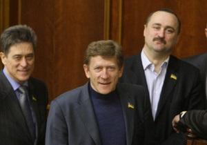 Группа Реформы ради будущего утверждает, что Забзалюк сам попросил денег на лечение