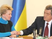 Богатырева поддерживает Ющенко в вопросе НАТО