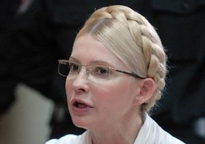 Тимошенко заявила, что не имеет непосредственного отношения к подписанию газовых контрактов