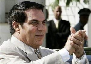 Европейский союз заморозил банковские счета бывшего президента Туниса