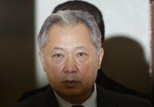 Власти Кыргызстана предложили Бакиеву забрать пенсию после возвращения