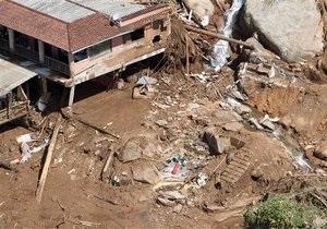 Число жертв оползней в Бразилии перевалило за 60