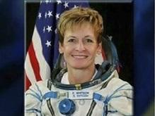 Американка установит сегодня рекорд по пребыванию в космосе