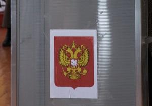 67% проголосовавших в Эстонии россиян выбрали Единую Россию