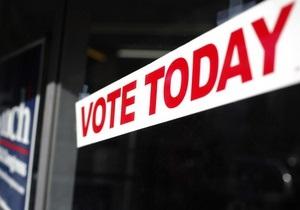 Американка приехала на голосование во время родовых схваток