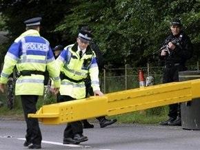Неизвестные подорвали бомбу на военной базе в Северной Ирландии