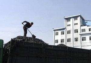 Украина за восемь месяцев увеличила добычу угля на 10%