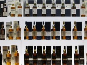 В Шотландии выставили на аукцион крупнейшую в мире коллекцию виски