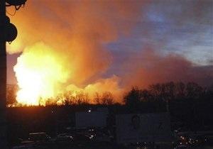 На военном складе в Болгарии взрываются боеприпасы