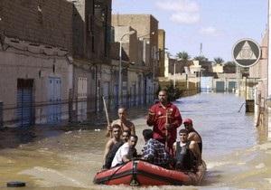 Жертвами наводнений в Алжире стали семь человек