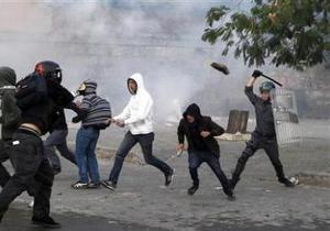 В субботних беспорядках в Риме пострадали 135 человек