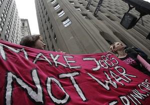 В Нью-Йорке прошла акция протеста против бюджетных сокращений