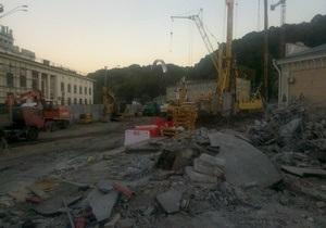 Археологов не пустили на раскопки Почтовой площади