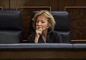 Министр финансов Испании свела вероятность выхода страны из еврозоны к нулю