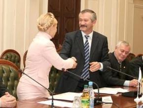 Тимошенко снова поспорила с Пинзеником