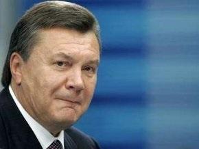 Янукович высказался против самороспуска парламента
