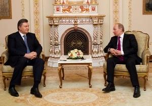Путин обсудил с Януковичем подготовку неформального саммита СНГ