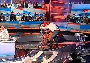 Бузина и Поярков подрались в прямом эфире Большой политики