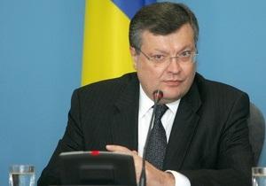 Грищенко: Украина намерена создать зону свободной торговли с РФ