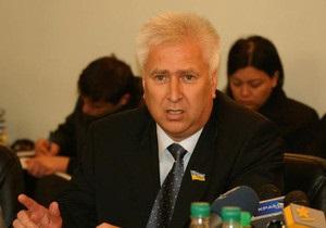 Участники киевского Дня гнева заплевали депутата от ПР