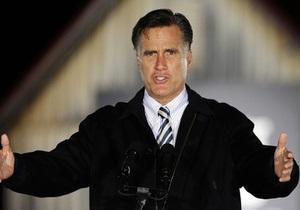 Ромни ведет с преимуществом в один процент - опрос Reuters/Ipsos
