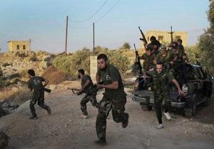 СМИ: Немецкая разведка помогает сирийским повстанцам в войне с Асадом