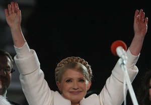 Тимошенко обещает стабильную цену на газ в 2010 году